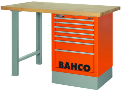 BAHC WOODEN TOP WORKBENCH BLUE 7T 150CM