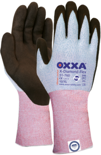 Oxxa Gloves X-Diamond-Flex Cut 3 51-760 10