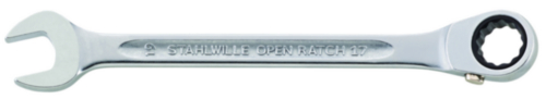 Stahlwille Combination ratcheting wrench 4R - 13 MM