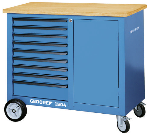 GED MOBILE WORKBENCH 9 DRAWERS