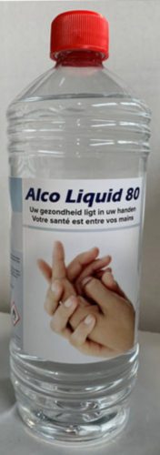 Fabory Approved Soins des mains Alco 80 1000 ML
