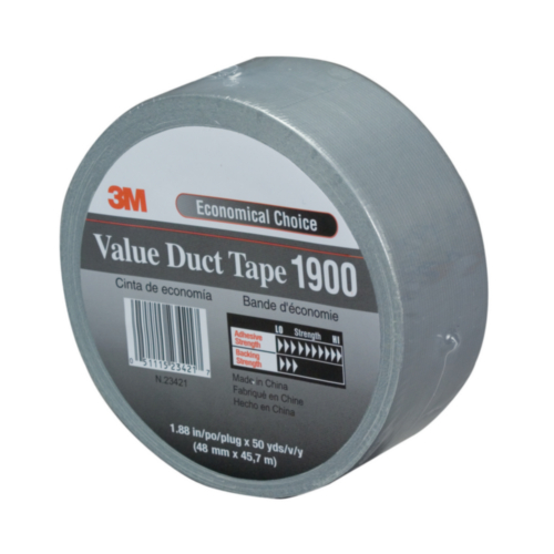 3M Duct tape 190050S Zilver 50MMX50M