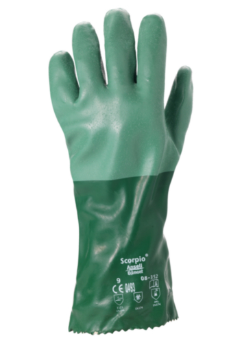 Ansell Chemical resistant gloves Scorpio 08-352 SIZE 10