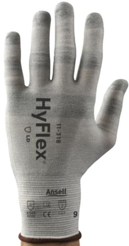 Ansell Cut resistant gloves Hyflex 11-318 SZ 9
