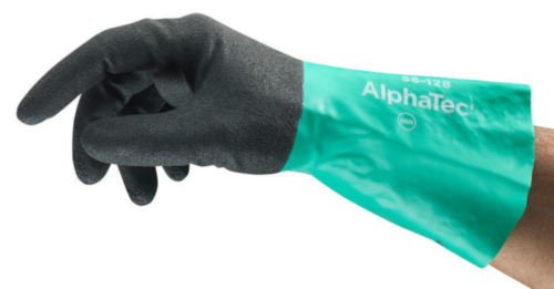 Ansell Chemical resistant gloves Alphatec 58-128 SZ 9