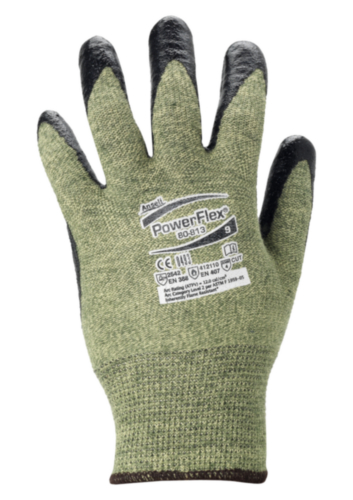 Ansell Cut resistant gloves Powerflex 80-813 SIZE 9