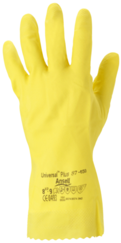 Ansell Chemical resistant gloves Universal Plus 87-650 SIZE 8
