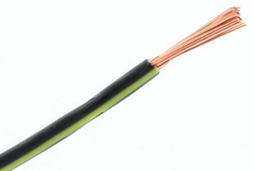 RIPC-100M-0.5BLK/YLW SINGLE CABLE