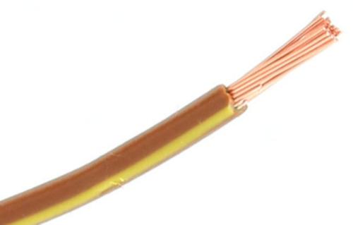 RIPC-100M-2BRN/YLW SINGLE CABLE