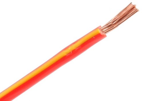 RIPC-100M-2RED/YLW SINGLE CABLE