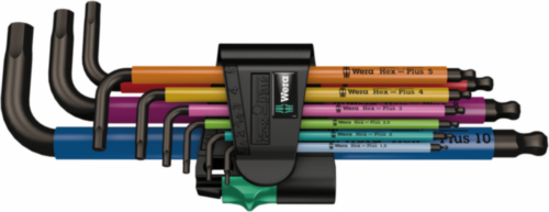 WERA 950 SPKL/9 SM N MULTICOLOUR 9PC