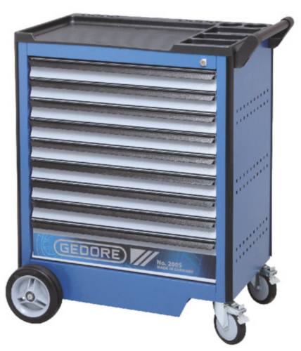 GED TOOL TROLLEY 9 DRAWERS