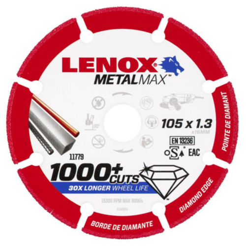 Lenox Cutting wheel 115X1.3X22.2MM
