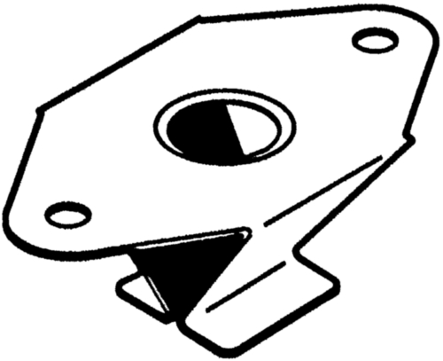 QUICK SYSTEM Receptáculo remachado Acero Cincado C 08/19