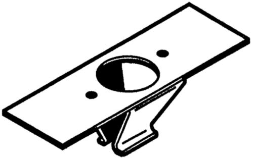 QUICK SYSTEM Lasveerplaat Roestvaststaal (RVS)