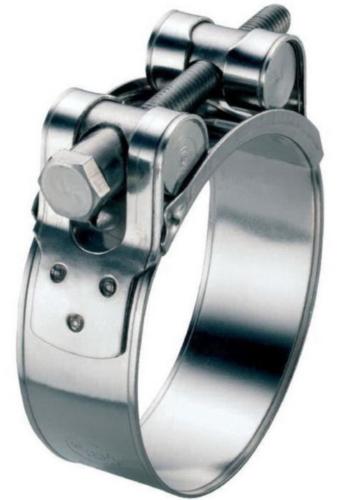 ABA ROBUST Hose clamp Stainless steel A4
