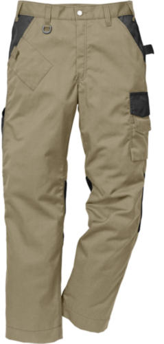 Fristads Kansas Pantalon de travail 2109 P154 114103 Kaki/Noir 48