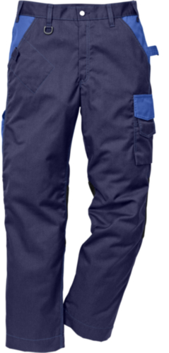 Fristads Kansas Worktrouser 2109 P154 114103 Navy blue/Cornflower blue 66
