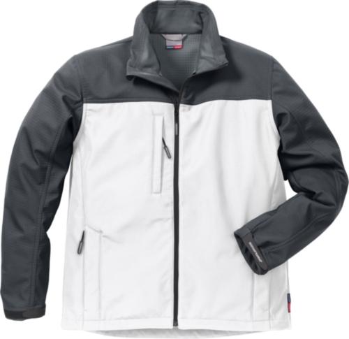 Fristads Kansas Softshell veste 4119 SSR 113930 White/Grey M