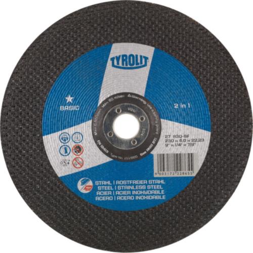 Tyrolit Disque de meulage 222861 150X6X22,23