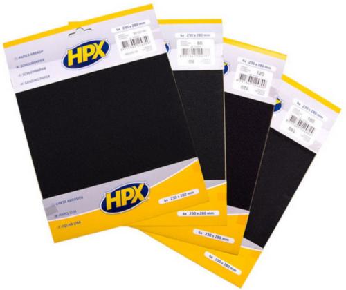 HPX Abrasive sheet P240/2X P400/P600
