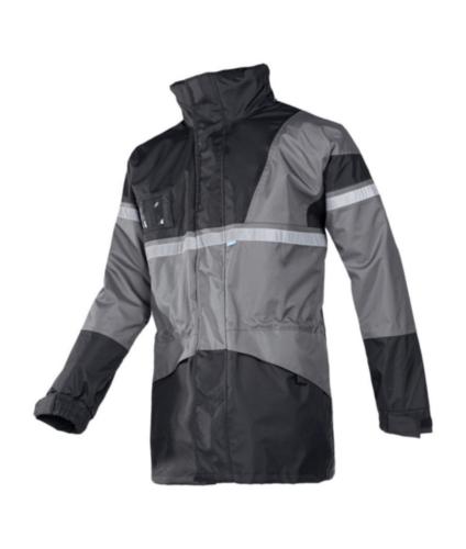 Sioen Regenjas Cloverfield 288A 288A Grijs/Zwart L