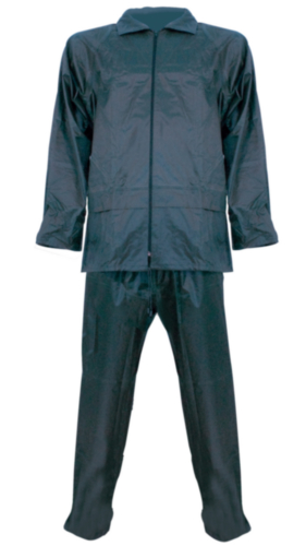 Rain suit Navy blue L