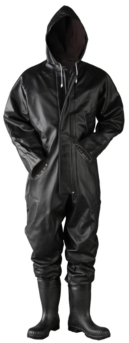 Dolfing Rain coverall 4.32.02 Black 45