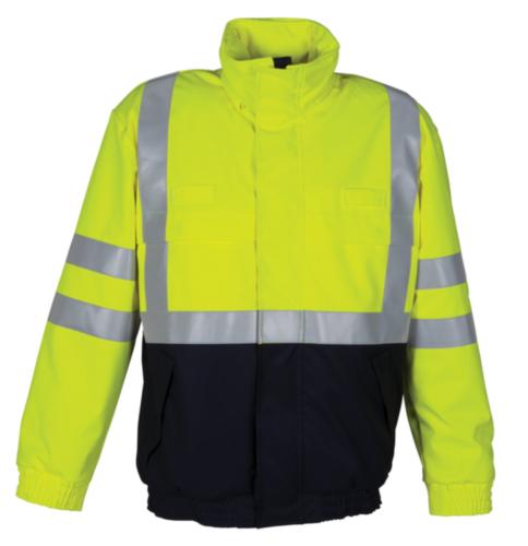 Havep Pilot jacket 50005 Fluorescent yellow/Navy blue XXL
