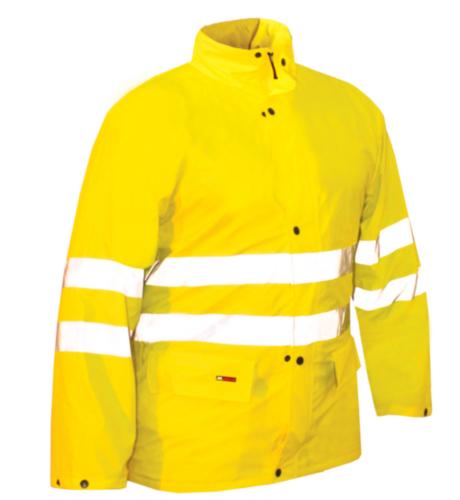 M-Wear Hoge zichtbaarheid vest Akoni 5505 5505 Fluorescerend geel 3XL