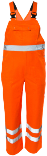 M-Wear High visibility coverall 5815 Fluorescent orange 58
