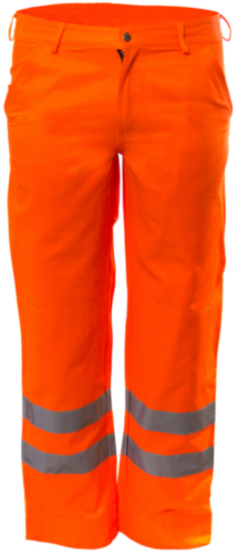 M-Wear High visibility trousers 5825 Fluorescent orange 60