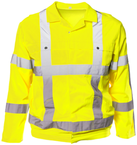 M-Wear High visibility jacket 5835 Fluorescent yellow 54