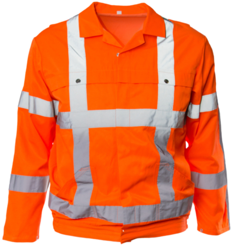 MWEA COAT 5835 RWS FL ORANGE 62
