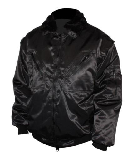 M-Wear Pilotjack 8390 8390 Zwart M