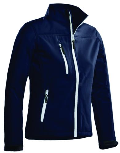 Santino Softshell jacket Soul Ladies SOFTSHELL Navy blue XL