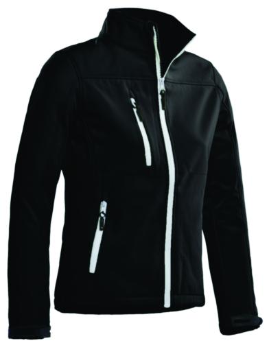 Santino Softshell jacket Soul Ladies SOFTSHELL Fekete XXL