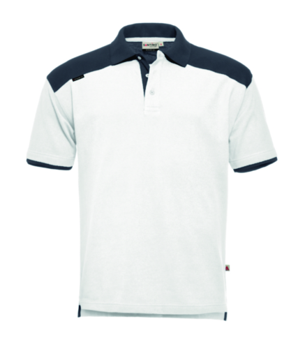 Santino T-shirt Tivoli White/Grey S