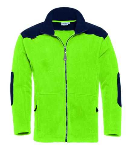 Santino Vest Trento Lime/Navy blue M