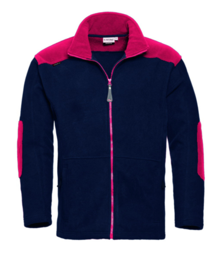Santino Vest Trento Blue/Red L