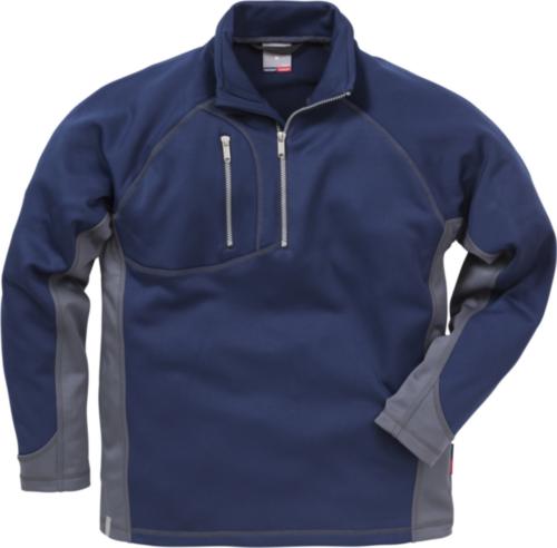 Fristads Kansas Sweater 114033 Navy blue/Grey L