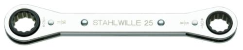 Stahlwille Clés à cliquet 25AN 1/4X5/16