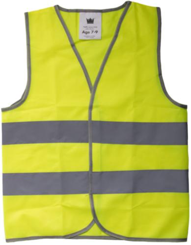 Hoge zichtbaarheid vest 0105 0105 Fluorescerend geel 11-14