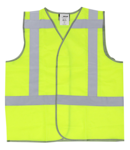 M-Wear High visibility traffic vest 0175 Fluorescent yellow XL/XXL