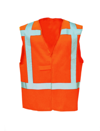 Sioen High visibility traffic vest Carpi 9042 Fluorescent orange L