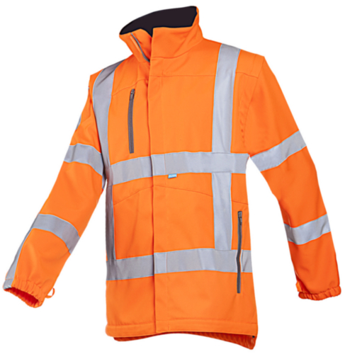 Sioen High visibility clothing Alphen SOFTSHELL 498A Fluorescent orange XXL