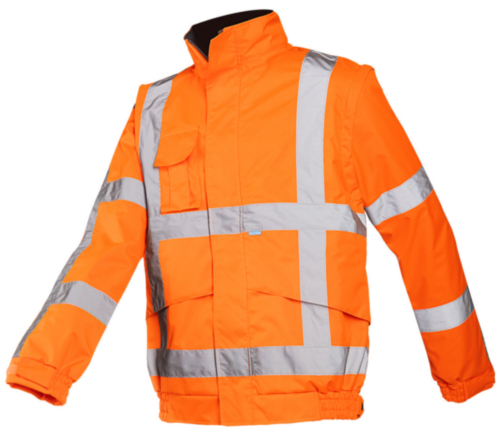 Sioen Hoge zichtbaarheid vest Diezel 351A 351A Fluorescerend oranje 3XL