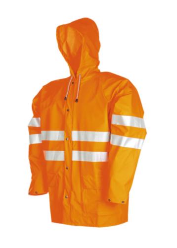 Sioen Hoge zichtbaarheid regenjas Unzen 3720 3720 Fluorescerend oranje 3XL