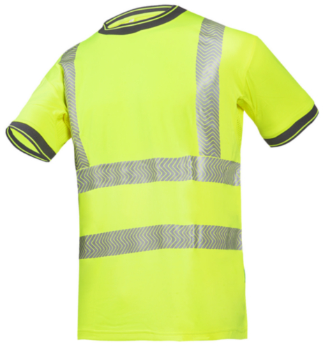 Sioen High visibility t-shirt Rovito 3876 Fluorescent yellow XXL