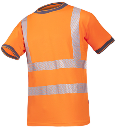 Sioen High visibility t-shirt Rovito 3876 Fluorescent orange S